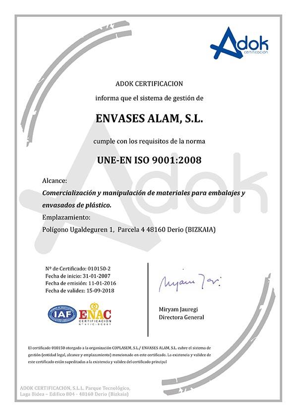 certificado-envases-alam-9001